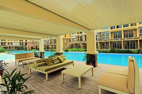 AMALFI, the pool deck.