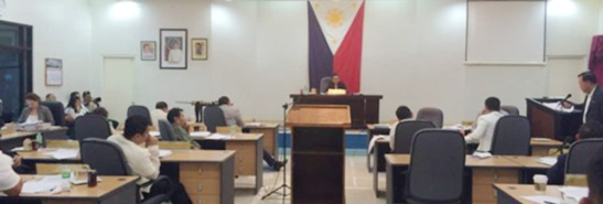 Cebu Provincial Board in session. (Photo courtesy of Cebu Capitol PIO)