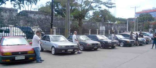 NISSAN cars of the 80's and the 90's line up with their owners who are members of Pundok Nissan who are pleased that Nissan Cebu could still provide them with genuine parts at reasonable time, plus the good service they have enjoyed through the years.