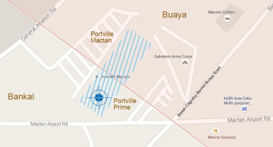 Google Map shows the location of the new project.