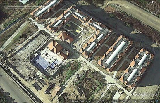 A glimpse of Sanremo Oasis on March 19, 2015 as seen through Google Earth. Guilding 6 can be seen still about to rise.