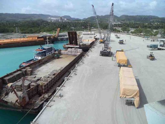 Expanded Pier. Built by Solid Earth Development Corp. (SEDC) for P270 million, it dispatches Grand Cement products produced by Taiheiyo Cement Philippines, Inc. (TCPI) offshore to Visayan and southern Luzon islands.