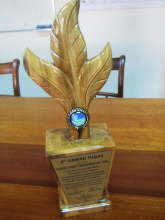 2018 Gawad Tugas trophy